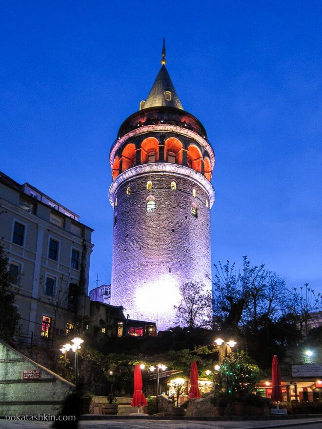 Галатская башня (Galata Tower)