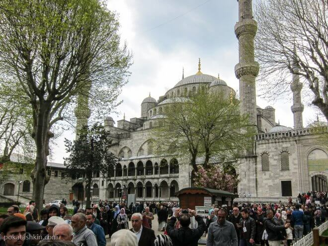 Мечеть Султанахмет (Голубую мечеть)