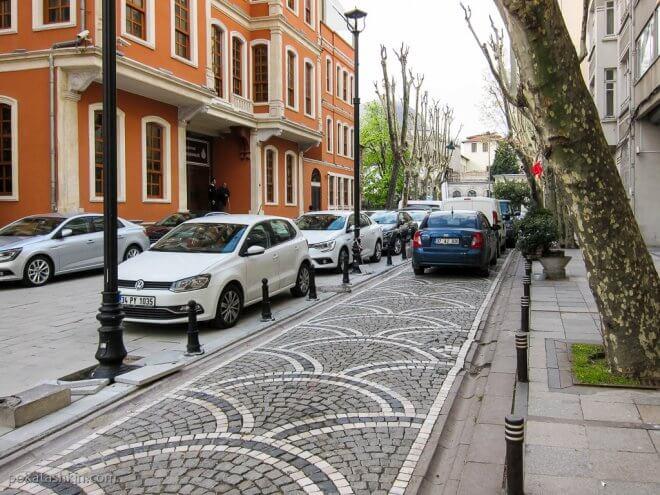 Брусчатка в Стамбуле