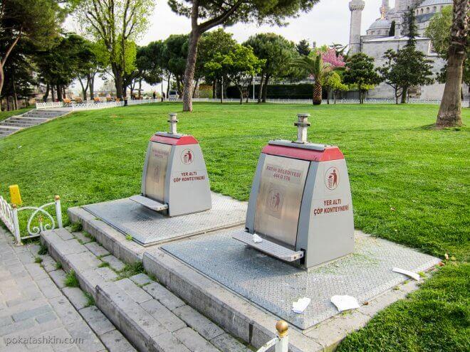 Стамбульские мусорки