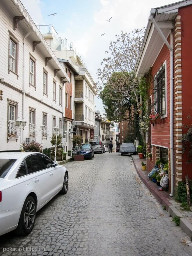 Тихая улочка Стамбула