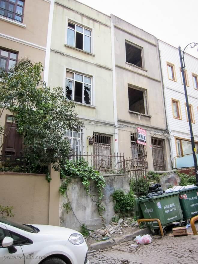Дом без окон в Стамбуле