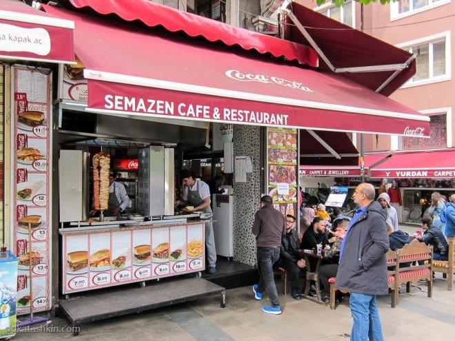 Semazen Cafe & Restaurant (Стамбул)