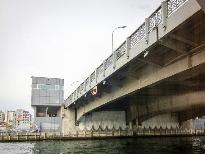 Разводной Галатский мост