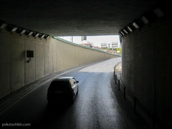 Развязка возле Галатского моста