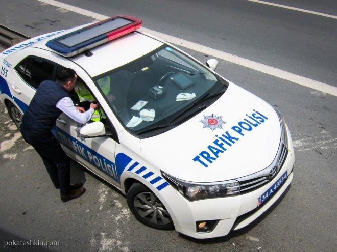 Стамбульская дорожная полиция