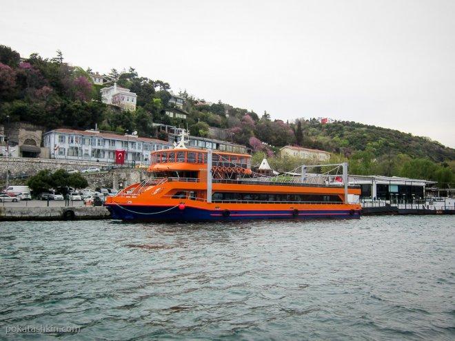 Корабли в Босфорском проливе