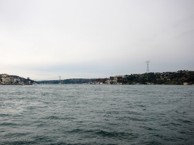 Линия электропередачи над Босфором