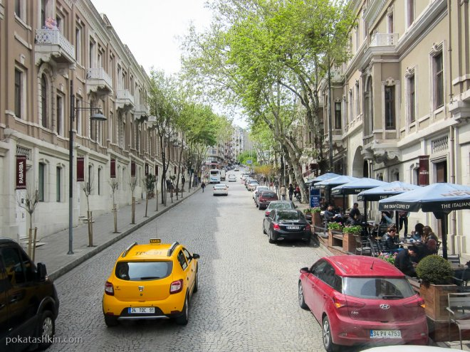 Тихие улицы Стамбула