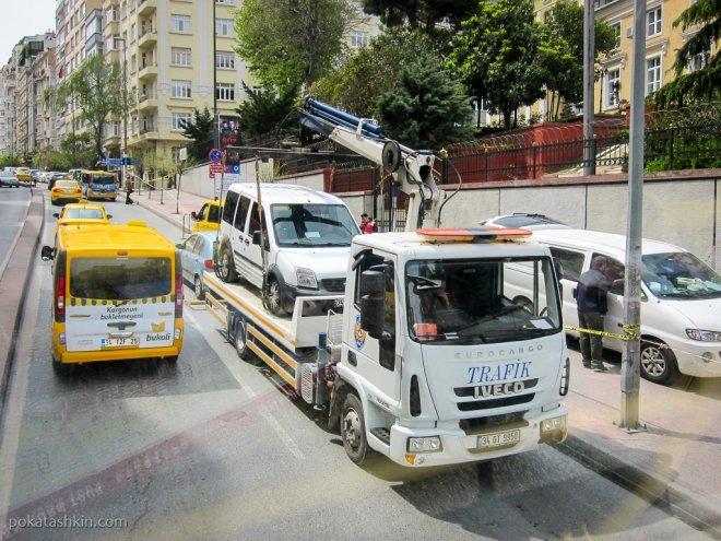Стамбульский эвакуатор