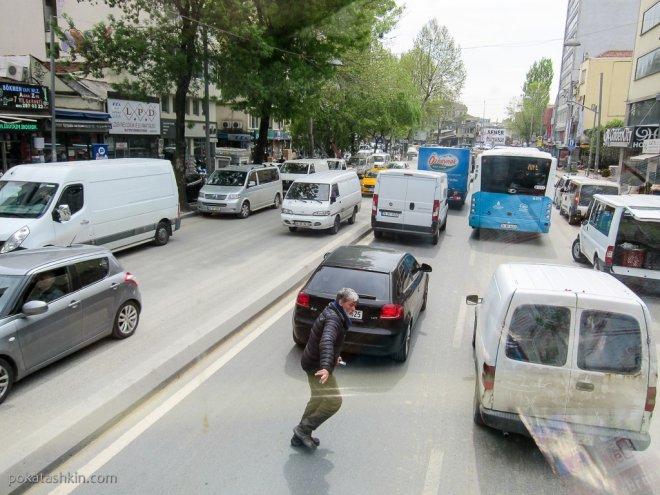 Опасные пешеходы