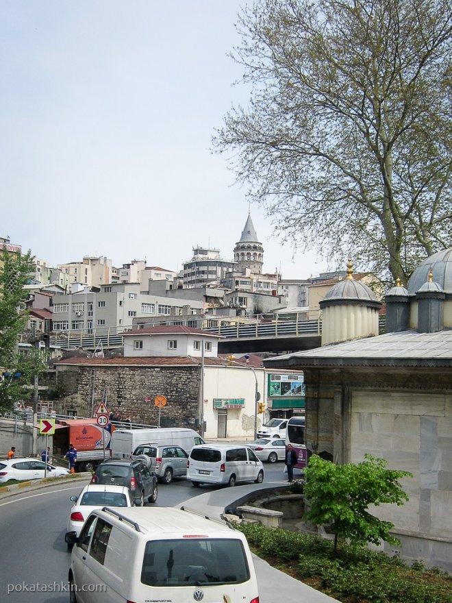 Съезд с моста Ататюрка