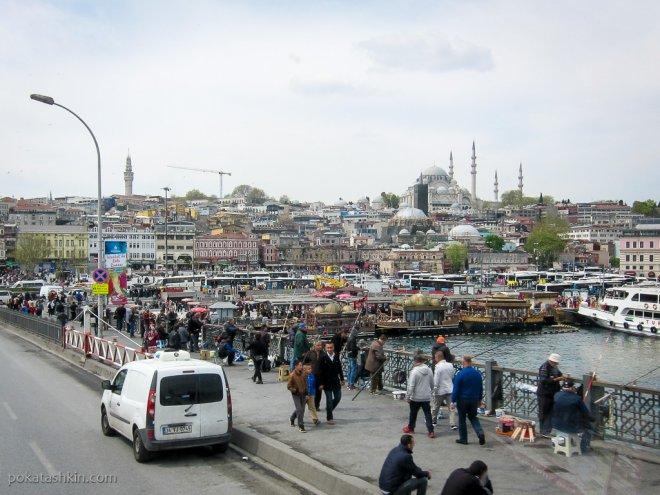 Стамбульские рыбаки