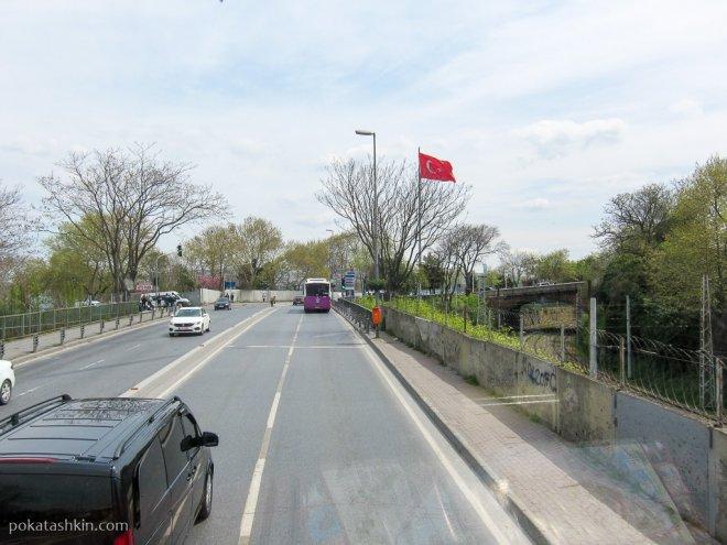 Улица Кеннеди в Стамбуле