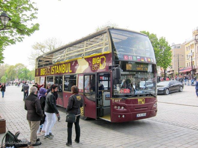 Автобус Big Bus Istambul