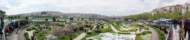 """Панорамное фото парка """"Миниатюрк"""""""