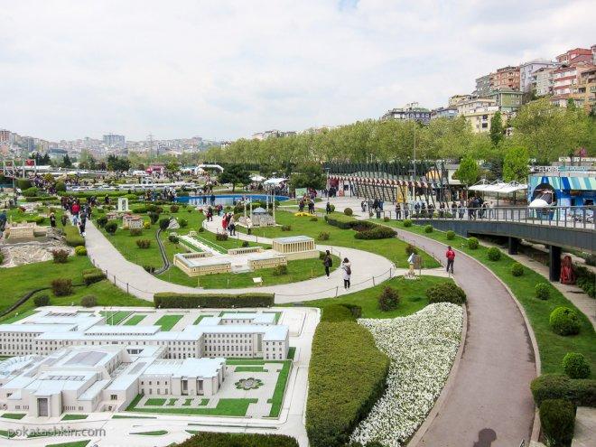 """Масштабные модели в парке """"Миниатюрк"""""""