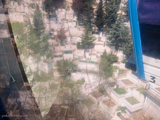 Надгробия османского кладбища