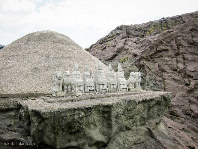 Руины на горе Немрут-Даг