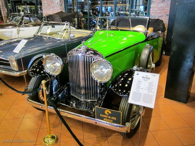 Bentley 3.5 litre, 1935 год