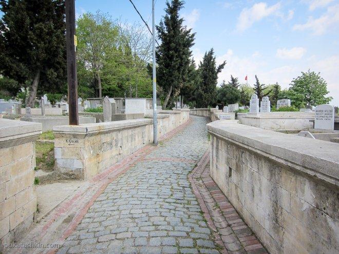 Надгробия на кладбище Эюп
