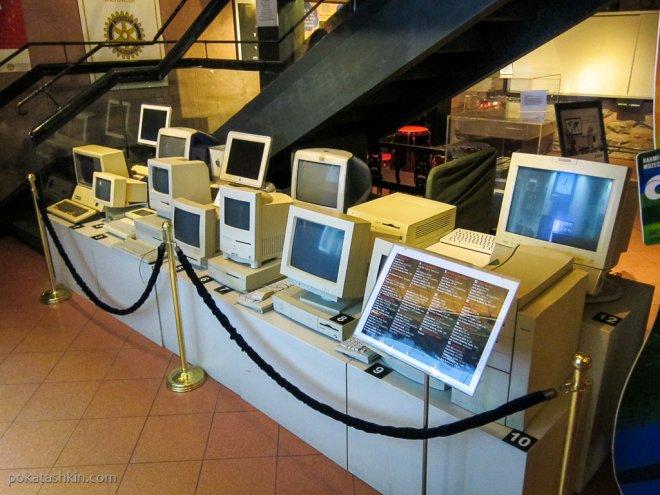Коллекция Apple в музее Рахми Коча