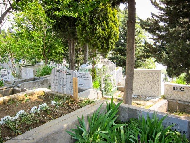 Могилы на кладбище Эюп
