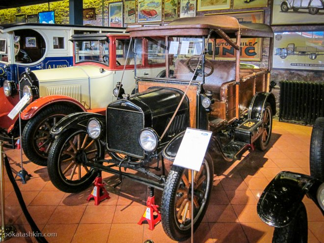 Ford Model T Wagon, 1908 год