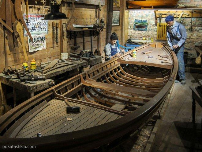 Как делают лодки