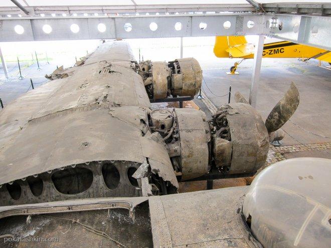 "Крыло B-24 Liberator ""Hadley's Harem"""