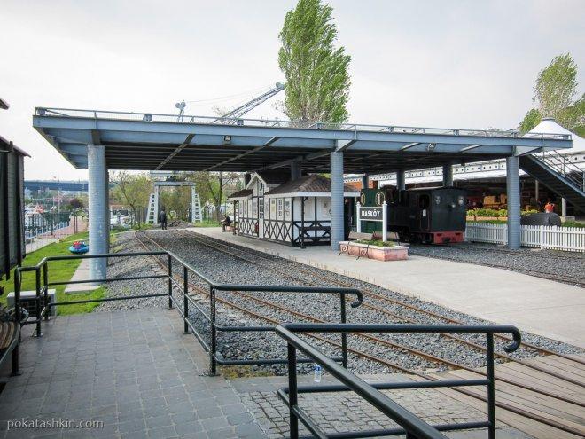 Железная дорога в музее Рахми Коча