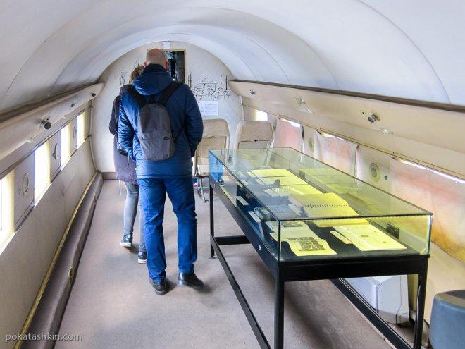 Внутри Douglas DC-3 Dakota