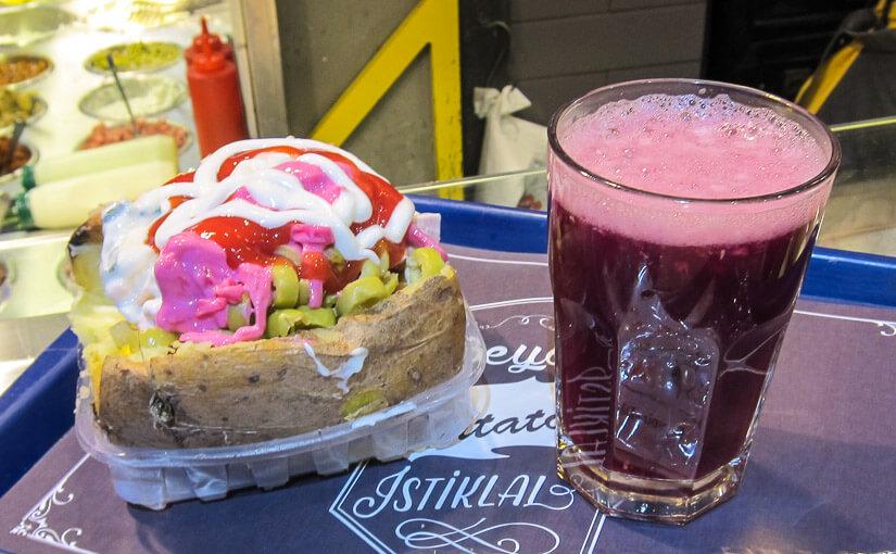 Bon Appetit: №334: Кафе быстрого обслуживания «Patatos» (Стамбул)