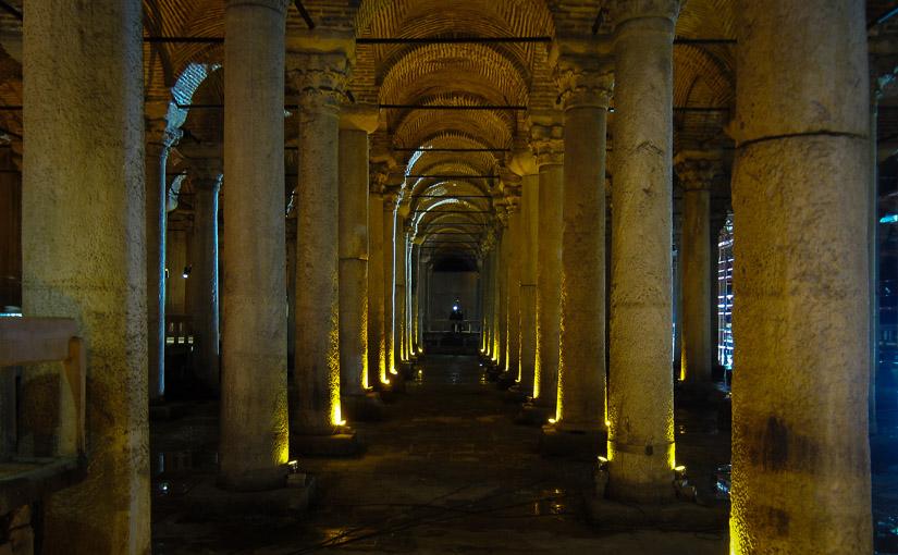 Стамбул. День 4. Цистерна Базилика (Еребатан Сарничи)