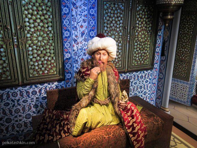 Турецкий султан Мехмед II Завоеватель (Fatih Sultan Mehmet)