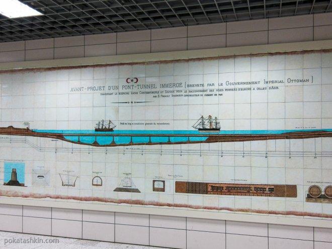 Проект тоннеля под Босфором «Мармарай»