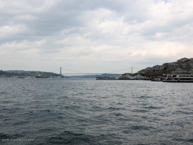 Автомобильный мост через Босфор (Мост Мучеников)