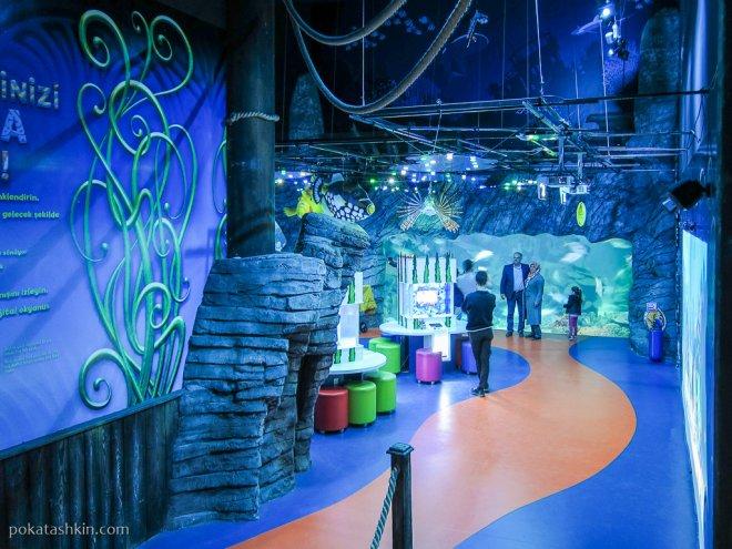Игровая зона для тетей в аквариуме SEA LIFE Istanbul