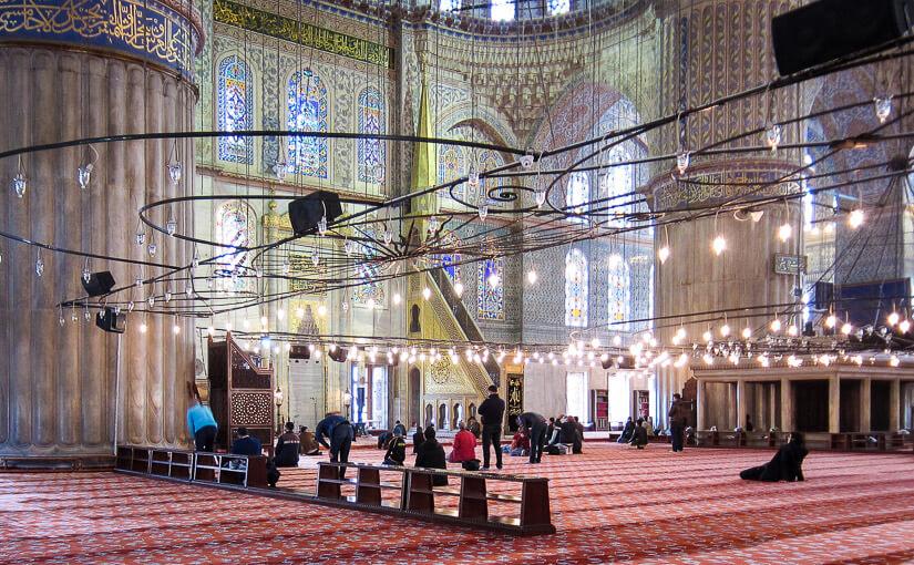 Стамбул. День 4. Голубая мечеть (Мечеть Султанахмет)