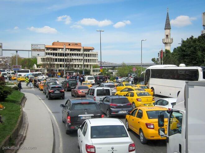 Пробки в Стамбуле