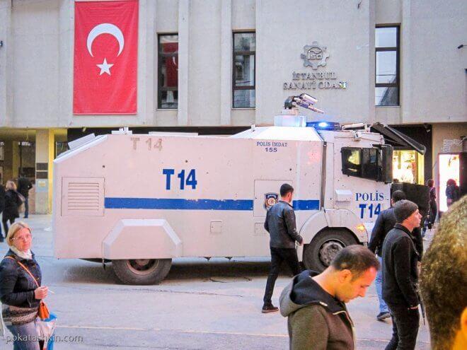 Водомёт в Стамбуле
