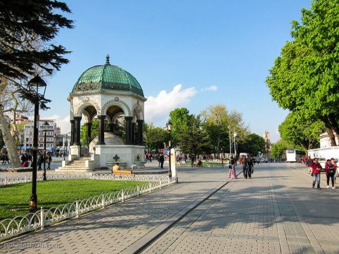 Немецкий фонтан в Стамбуле