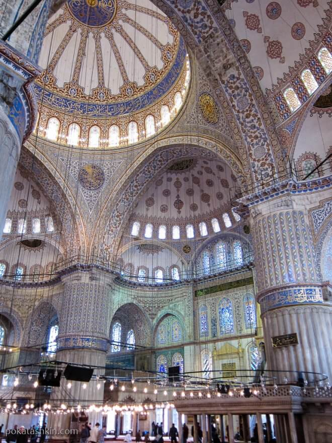 Купол Голубой мечети (Мечеть Султанахмет)