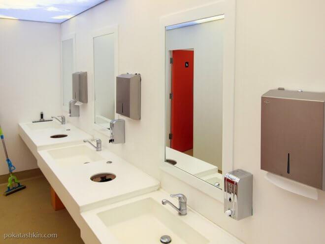 Общественный туалет в Стамбуле