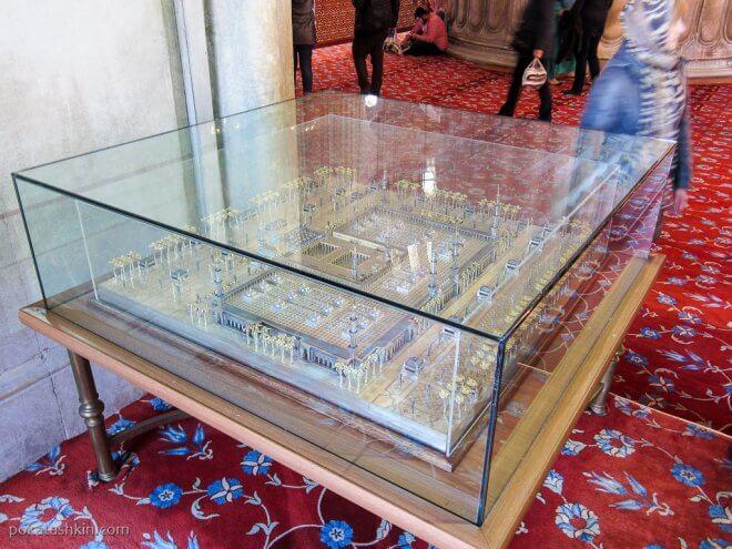 Макет мечети Аль-Масджид ан-Набави (Мечеть Пророка)