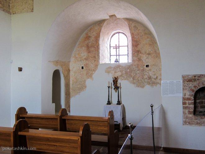 Каплица Святого Христофора в Мирском замке