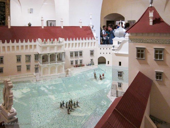 Макет Старого замка в Гродно