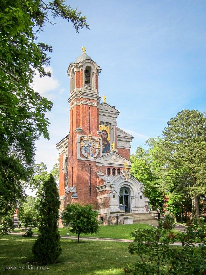 Церковь-усыпальница князей Святополк-Мирских
