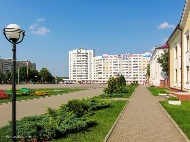 Центральная площадь Светлогорска