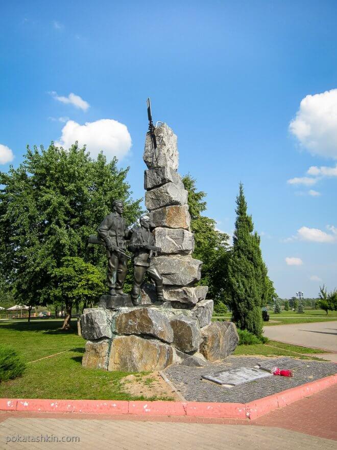 Памятник погибшим в Афганистане в Светлогорске